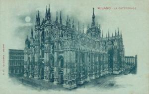 Italy Milano La Cattedrale Unposted 01.71