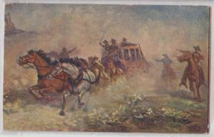 Stagecoach Robbery by R. A. Davenport