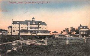 Glenwood Rock Hill, New York Postcard