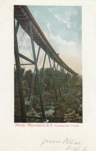 WHITE MOUNTAINS, New Hampshire, 1901-07; Frankenstein Trestle(Railroad)