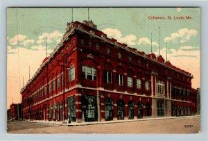 St Louis MO-Missouri, Coliseum, Vintage c1912 Postcard