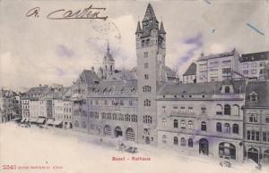 Switzerland Basel Rathaus 1910