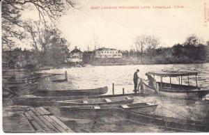 Boat Landing Wononsco Lake, Lakeville, Conn