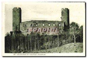 Postcard Ancient Ruins of Chateau Andlau