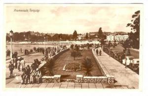 RP; Promenade, Torquay, England, 20-40s