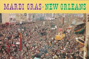 Louisiana New Orleans Mardi Gras Day