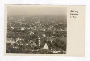 RP  Blick auf grinzing u. Wien, Austria, PU-1950