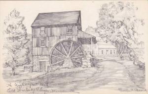 The Wight Grist Mill, Old Surbridge Village, Massachusetts,00-10s