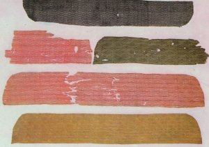 Pieces Of Gauze Tang Dynasty Silk Embroidery Chinese Postcard