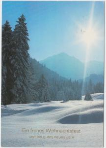 Ein frohes Weihnachtsfest und ein gutes neues Jahr, used Postcard