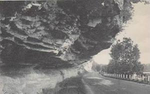 Arkansas Bentonville Overhanging Cliffs Albertype