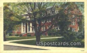 Taylor Hall Boys Dormitory, Brevard College Brevard NC 1941