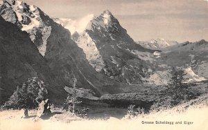 Grosse Scheidegg and Eiger Switzerland Unused