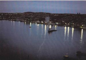 The St. John's Skyline At Night Shows A Touch Of Beauty & Atmosphere, St. Joh...