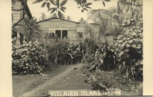 Pitcairn Islands, Byrd Antarctic Expedition III (1939) RPPC (1)