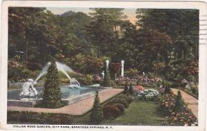 New York Saratoga Springs Italian Rose Garden City Park