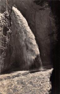 Switzerland Aareschlucht bei Meiringen Waterfall Cascade