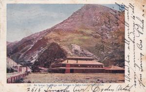OGDEN CANYON, Utah, 1907 ; Hot Springs Sanitarium