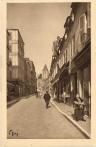 CPA Paris 20e Quartier de Charonne - La Rue St-Blaise et Église (52146)