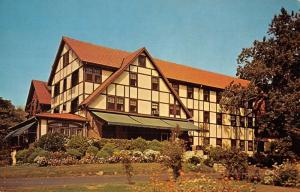 Montclair New Jersey Marlboro Inn Street View Vintage Postcard K52053