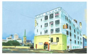 John K King Detroit Michigan Bookstore Book Shop Store Postcard