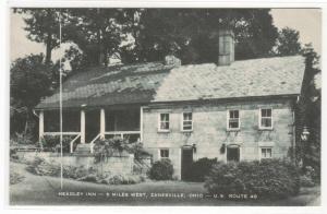 Headley Inn US 40 Zanesville Ohio postcard
