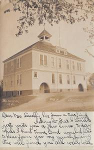 Berwick Maine~Sullivan High School~To Mrs Henry Farrell From Annie~1906 RPPC
