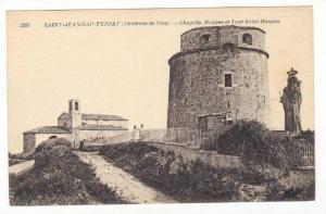 Chapelle, Madone Et Tour Saint-Hospice, Saint-Jean-Cap-Ferrat (Alpes Maritime...