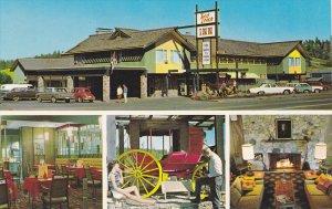 Red Coach Inn , 100 MILE HOUSE , B.C. , Canada , 50-60s