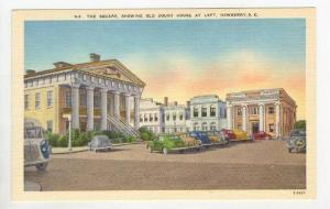 The Square, showing Old Court House,Newberry, South Carolina, 30-40s