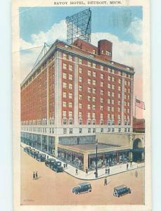 W-Border HOTEL SCENE Detroit Michigan MI H1186