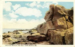 ME - York Beach. The Old Man of the Sea Rock