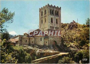 The Modern Postcard They Roussillon area of ??Vernet les Bains Abbey of St Ma...
