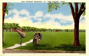 IA - Des Moines. Fort Des Moines, Parade Grounds
