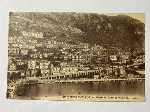 POSTED 1925 VINTAGE POSTCARD - MONTE CARLO FRANCE (KK294)