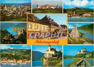 Postcard Modern Nibelungenhof Strandhotel Familie Selinger