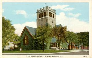 NH - Laconia. First Congregational Church