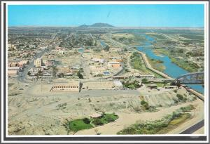 Arizona, Yuma Aerial View Postcard