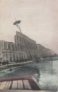 MESSINA, Italy, 1908; Effects of the Tidal Wave & Earthquake on the Water Front