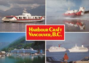 Some Of The Harbour Craft In Vancouver British Columbia Canada