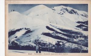Rieti , Lazio, central Italy , 1920-30s ;Terminillo - Stazione superlore dell...