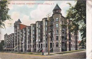 New York Utica The Olbiston Apartment House