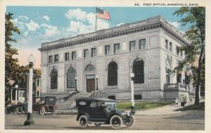MANSFIELD , Ohio, 1900-10s; Post Office