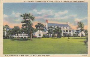 Ocean-Forest Country Club, Myrtle Beach, South Carolina, PU-1945
