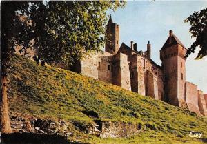 BR3471 Chateau de Creully vue nord ouest sur les remports  france