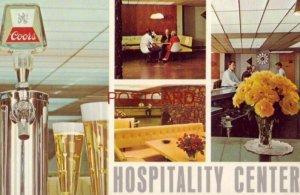 four views of HOSPITALITY CENTER - ADOLPH COORS COMPANY, GOLDEN, COLORADO