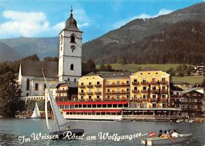 Im Weissen Roessl am Wolfgangsee Hotel Weisses Roessl Pension Lake Boats Tower