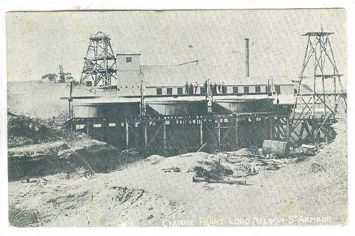 Cyanide Plant, Lord Nelson gold mine, St Arnaud, Victoria