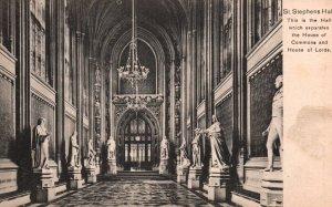St Stephens Hall,Parliament,London,England,UK BIN