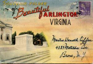 Folder - Virginia, Arlington  (27 views + covers + narrative)